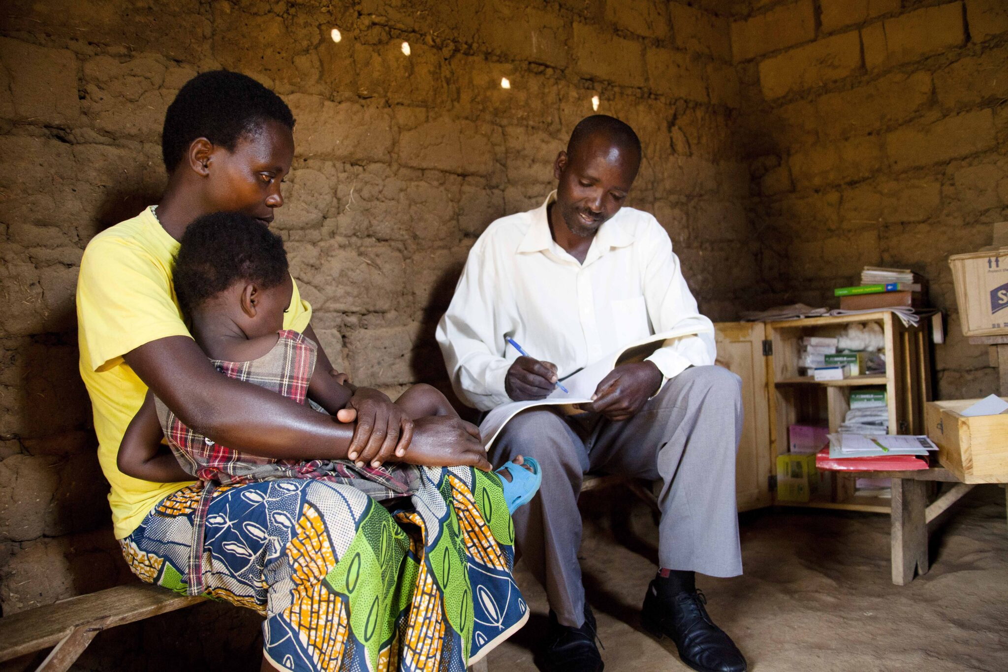 Quality Improvement Helps CHWs Meet the Medical Supply Needs of Rwanda's Children