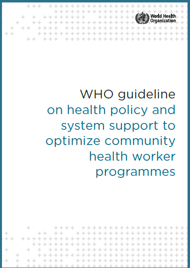Unveiling the WHO Guidelines to Optimize CHW Programs