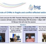 The role of CHWs in fragile and conflict-afflicted settings